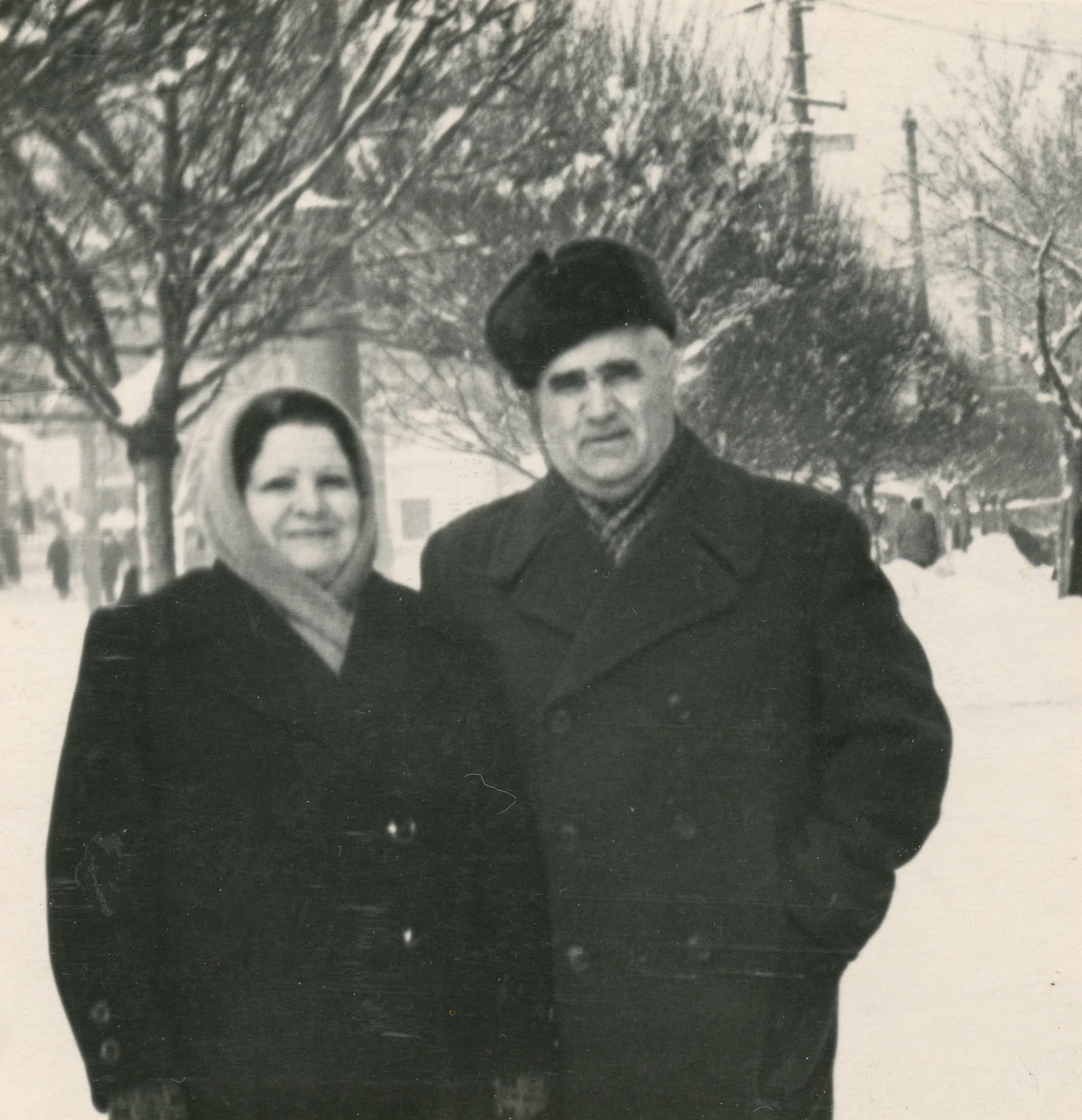 Peña con su esposa. Cortesía de Lev Krylenkov