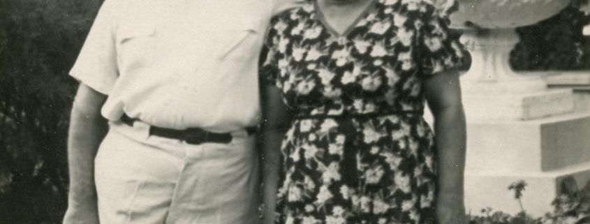 Peña y Elvira Blasco. Cortesía de Lev Krylenkov