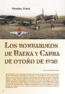 Los bombardeos de Baena y Cabra en el otoño de 1938