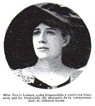 Renée Lafont en 1913