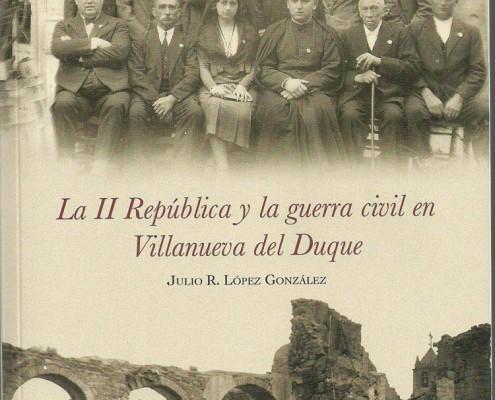 La II República y la guerra civil en Villanueva del Duque