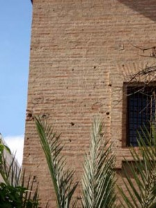 Fachada del convento de Capuchinas